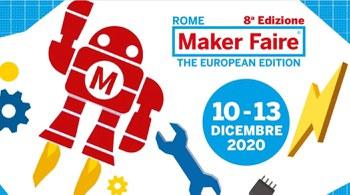 10/13 dicembre 2020: Rome Maker Faire 2020 in formato digitale