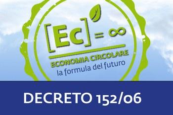 Webinar Economia Circolare I Cosa cambia nel D.lgs. 152/06, nuove e vecchie regole; 16/12/2020