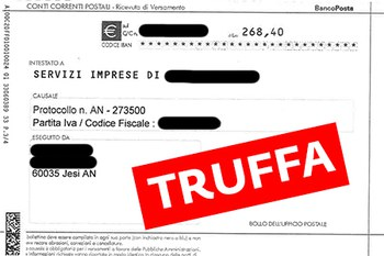 Attenzione ai bollettini di pagamento ingannevoli!