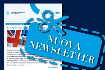Iscriviti alla newsletter della Camera di Commercio delle Marche!