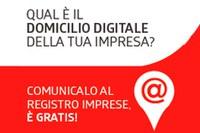 Obbligo di comunicazione domicilio digitale (già PEC) entro il 1° ottobre